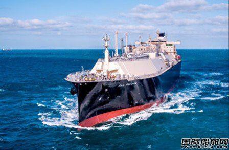 大宇造船交付商船三井一艘18万方LNG船