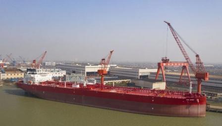 FSL Trust转售扬州中远海运重工2艘在建油船
