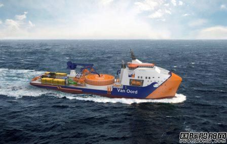 Brunvoll为Van Oord新建铺缆船配套推进系统