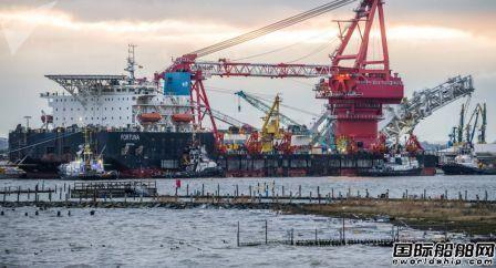 """美国将""""北溪2号""""项目铺管船及船东纳入新制裁名单"""