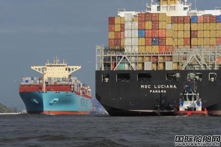 """地中海航运即将""""登顶""""成为全球最大船公司"""