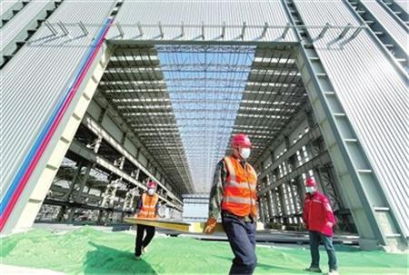 天津海洋工程装备制造基地计划年底前投产
