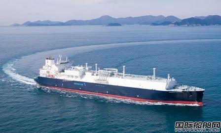 三星重工交付Minerva Marine首艘17.4万方LNG船