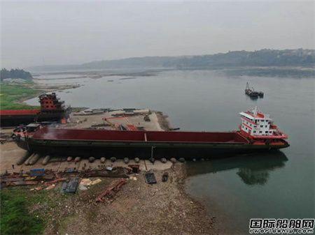泸州造船业发展迅猛货船吨级不断攀升