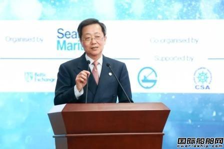 许立荣获海贸国际海事2020年终身成就奖