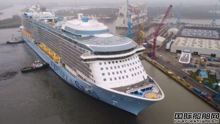 Meyer Werft建造第二艘超量子级邮轮离厂海试