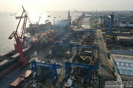 再创历史新高!南通中远海运船务全年计划修理改造船舶260艘