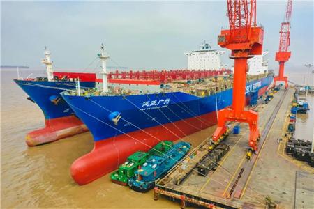 舟山中远海运重工推进中远海运集运内贸船受电设施改造项目