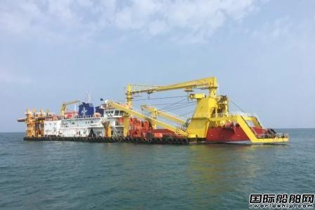 天津疏浚两艘挖泥船完成海外施工任务调遣回国