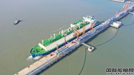 全球最大VLEC在连云港完成首次卸货