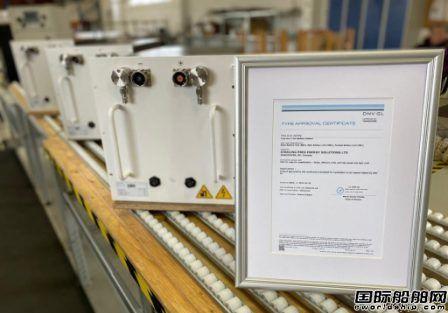 Sterling PlanB船用电池获DNV新规范完全认证