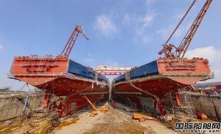 前2月交船6艘!新时代造船迎来生产经营开门红