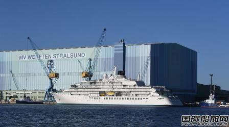 """全球最大极地探险邮船""""水晶奋进""""号完成试航"""