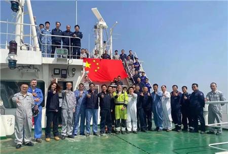 仅6天!沪东中华23000TEU双燃料集装箱船完成气体试航