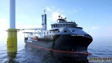 Crowley将与Esvagt合作开发琼斯法案风电运维船