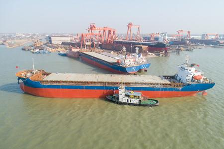 江苏润扬船业:造船任务排满两年