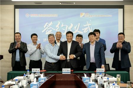 海油发展和济宁港航集团合作助力京杭运河绿色发展