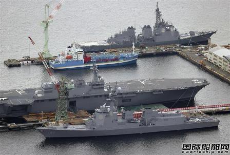 日本JMU旗下船厂发生事故一名工人高空坠落身亡