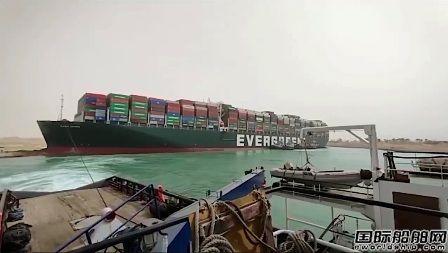 """200艘船大排长龙!长荣巨轮""""堵住""""全球航运大动脉"""