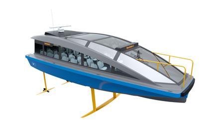 瑞典Candela将推出世界上最快的电动客轮