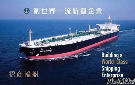 招商轮船:2020年净利润27.8亿元同比大增44%