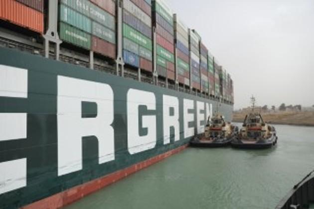 238艘货船被堵!苏伊士运河堵塞谁最受伤?