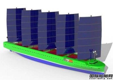 欧洲船企联手推出风动力集装箱船概念