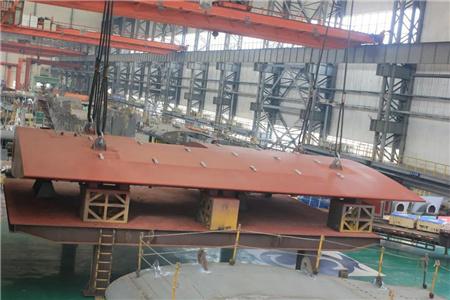 南通远洋配套喜获大船集团4船套T300K系列船舵叶订单