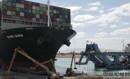 """400艘积压船""""快速""""放行!苏伊士运河恢复通航"""