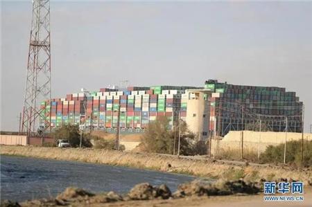 苏伊士运河缓解拥堵尚需数日 巨额损失谁来承担?