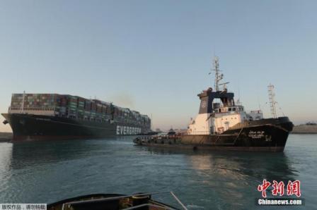 苏伊士运河通了!113艘船将先通行
