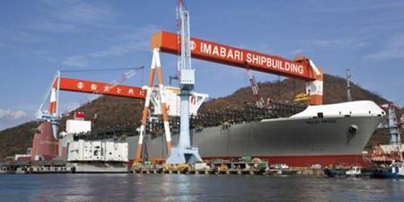 """日媒:中国造船业""""毫发无损""""领航全球"""