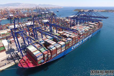 净利润近百亿元!中远海控2020年业绩大幅提升