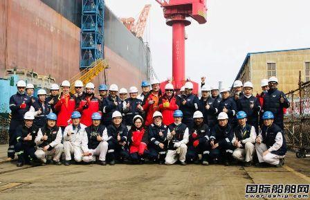 大连中远海运重工FPSO Sangomar改装项目全面开工
