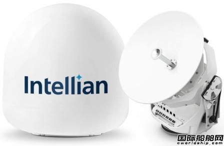 Intellian推出小型船舶专用最小型天线v45C