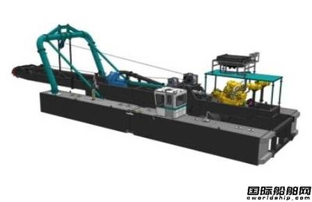 DSC Dredge披露新版Marlin级挖泥船设计