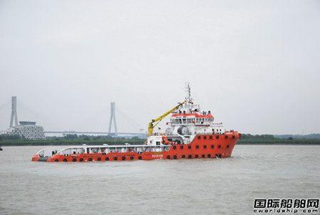 镇江船厂建造拖轮参与苏伊士运河堵塞救援