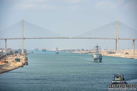 """苏伊士运河""""拥堵""""结束:所有滞留船已全部通过"""