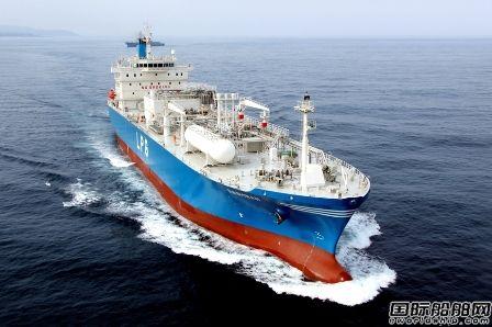 现代尾浦造船获PascoGas一艘中型LPG船订单