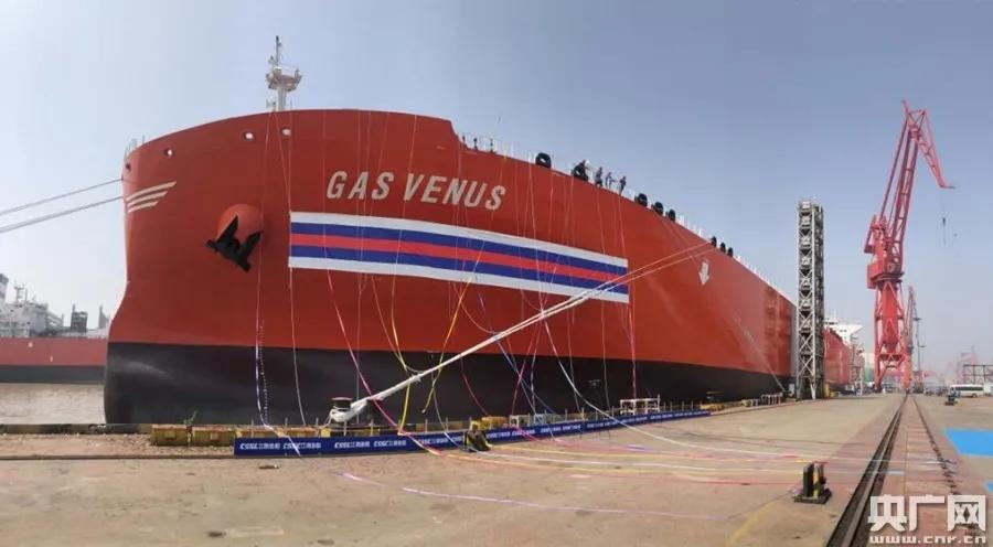 进出口银行为西南海运全球首艘VLGC提供融资支持