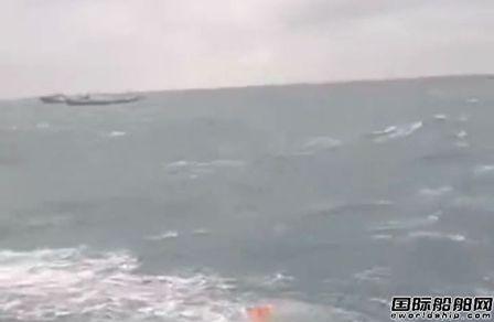 舟山海域一渔船沉没已致12人死亡4人失踪