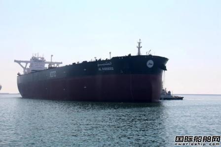 渤船重工建造32万吨VLCC首制船试航凯旋