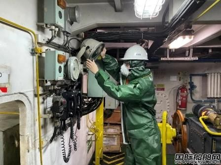 中国船级社签发首张巴拿马旗非公约船安全证书