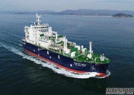 KOGAS计划将旗下LNG船维修业务放在韩国国内船厂