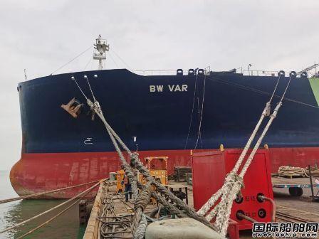 招商工业孖洲岛基地同时承修三艘双燃料改造项目