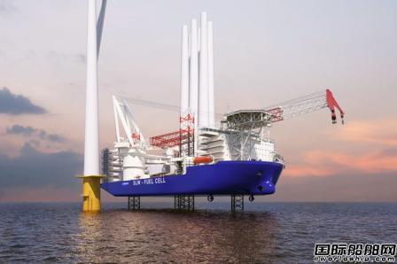 三星重工自主研发低碳风电安装船同获三大船级社认证