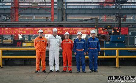 扬州金陵建造15000吨沥青船顺利开工