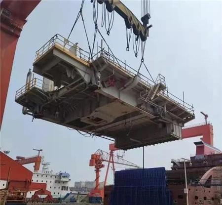 威海金陵提前完成渤海7号平台2大节点