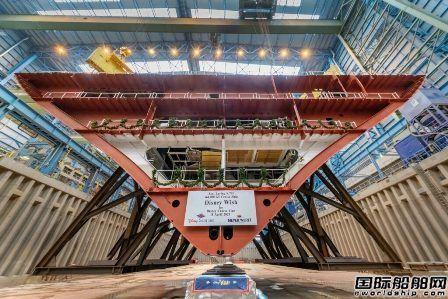 Meyer Werft为迪士尼建造首艘LNG动力邮轮铺设龙骨