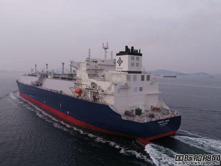 三星重工交付Navigare首艘17.4万方LNG船